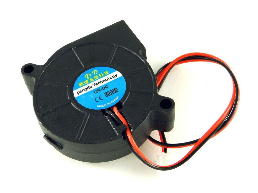 Вентилятор-турбина 50x15, 12В