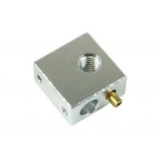 Блок нагревателя для экструдера MK8 с гильзой