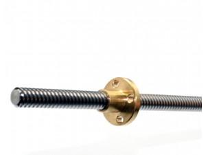 Ходовой винт T8/8мм, длина 500мм