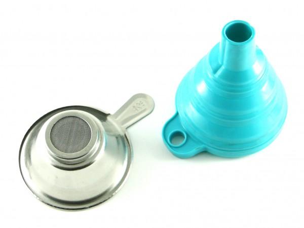 Сетчатый фильтр и воронка для фотополимера
