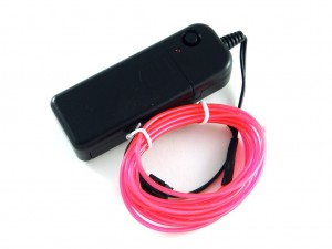 Электролюминисцентный провод (EL-Wire), 3 м
