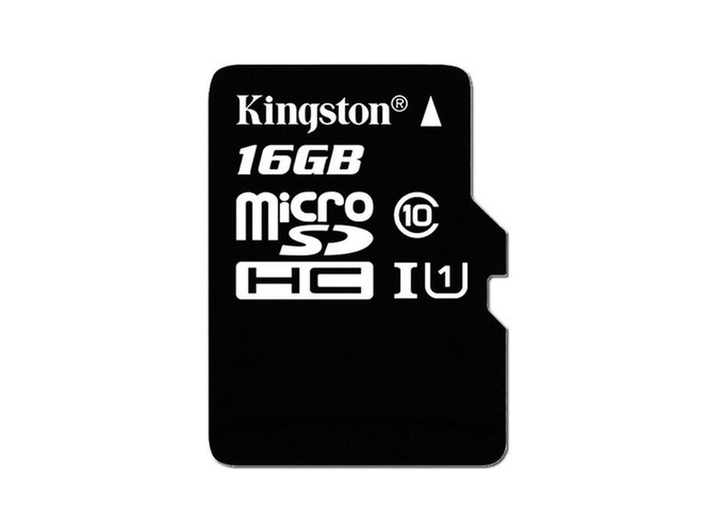 Карта памяти micro-SD Kingston 16Гб