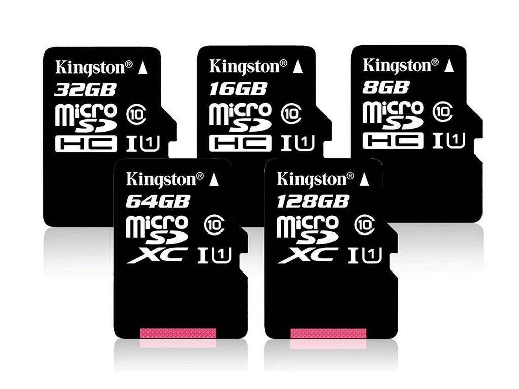 Карта памяти micro-SD Kingston 32Гб