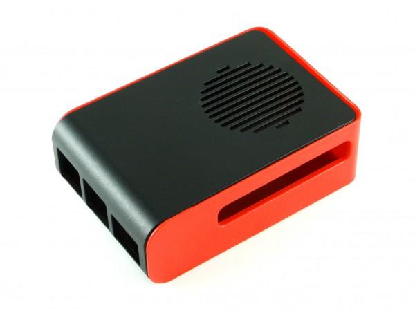 Корпус для Raspberry Pi 4, красный/черный