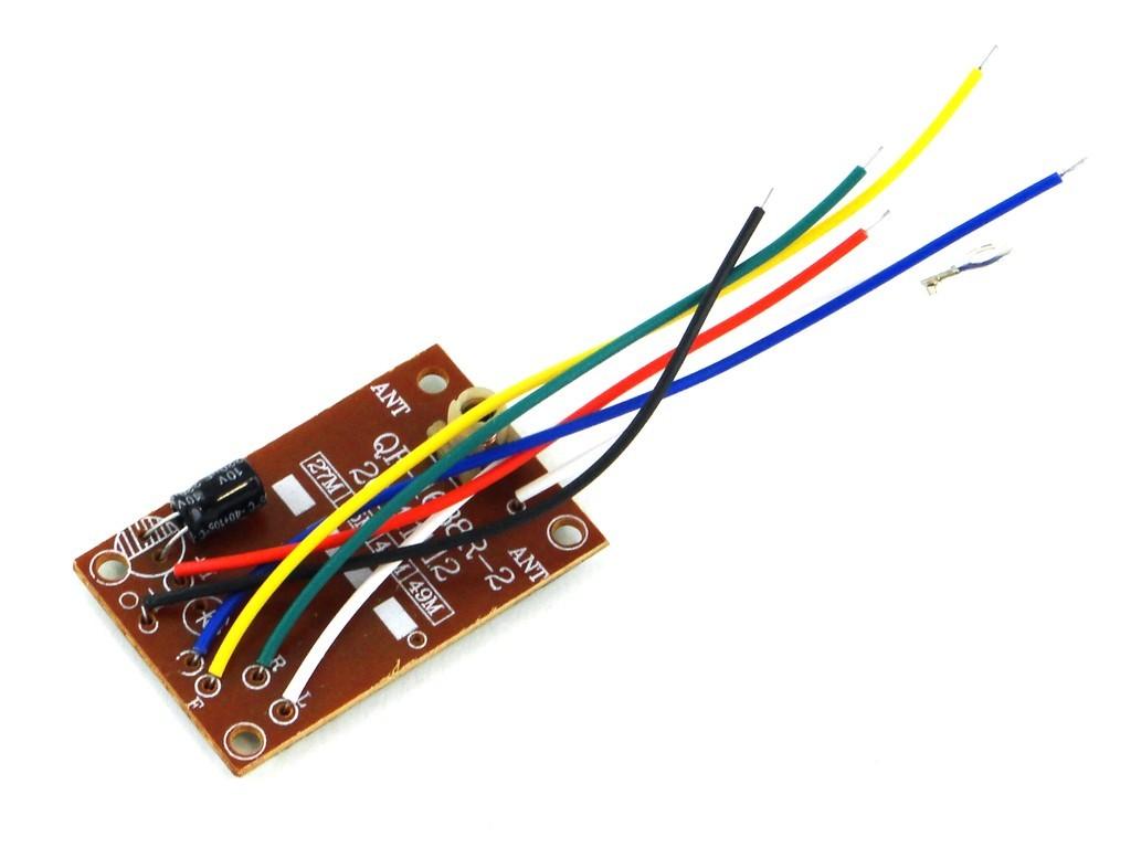 Пульт ДУ 4-канальный, 27 МГц