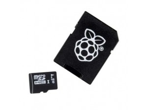 Карта памяти MicroSD 16Гб с предустановленной ОС для Raspberry Pi