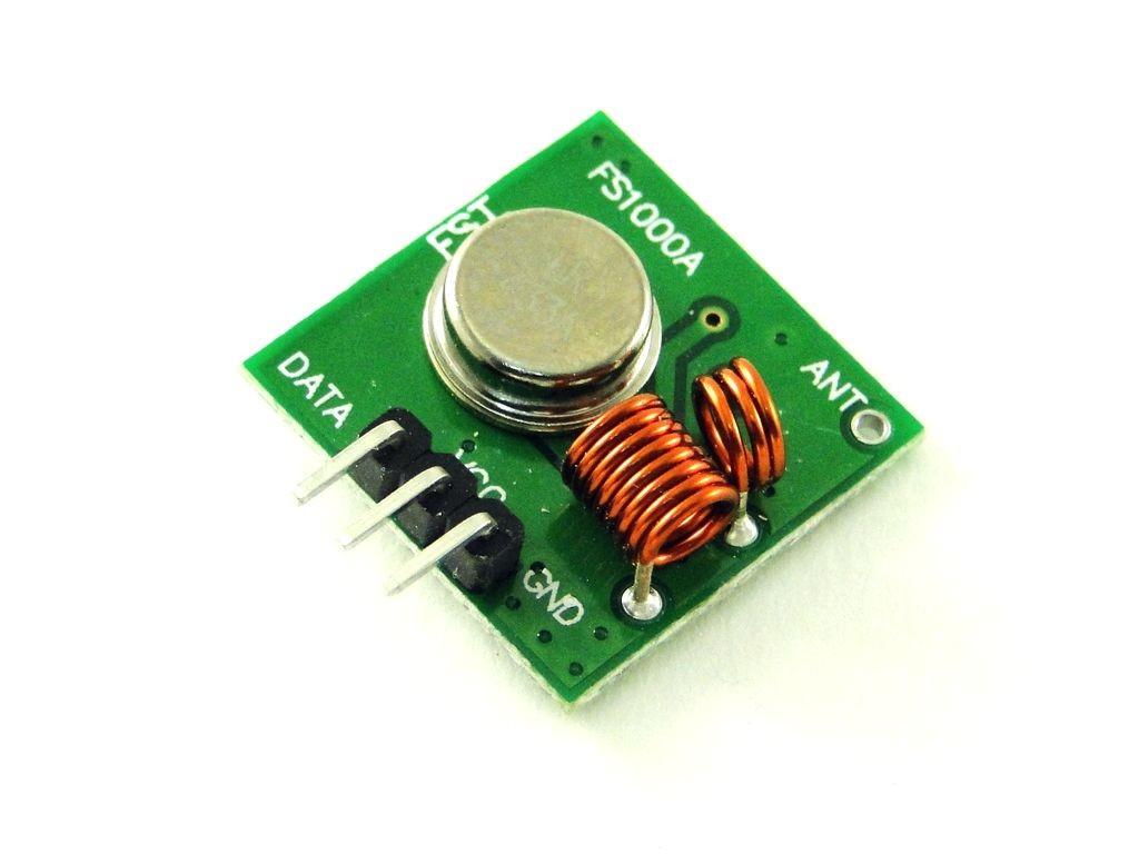 Радиомодуль 433МГц, приемник и передатчик