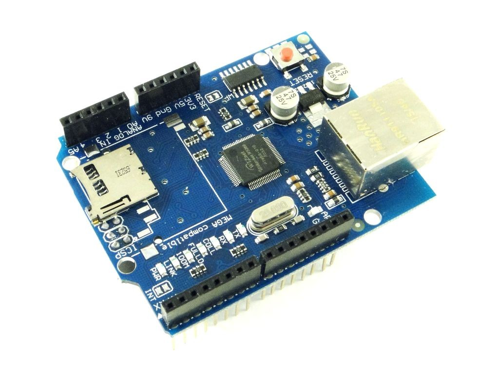 Модуль Ethernet W5100 для Arduino