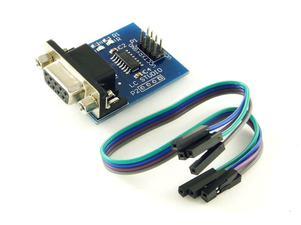 Преобразователь интерфейса TTL-RS232 с разъемом DB9