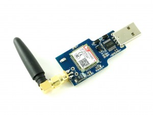 Модуль GSM/GPRS связи SIM800C с USB, Bluetooth, SMA
