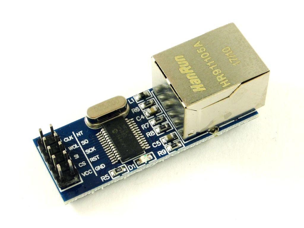 Модуль Ethernet с SPI интерфейсом, CH2