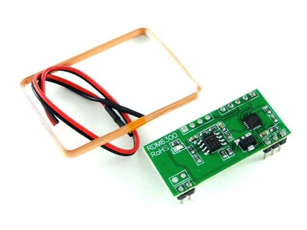 Модуль чтения RFID на основе RDM6300, 125 КГц