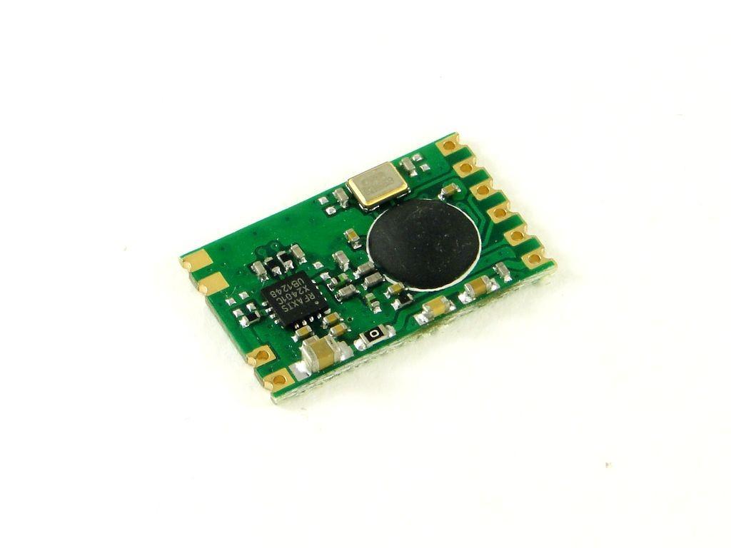 Радиомодуль CC2500 с усилителем 100 мВт