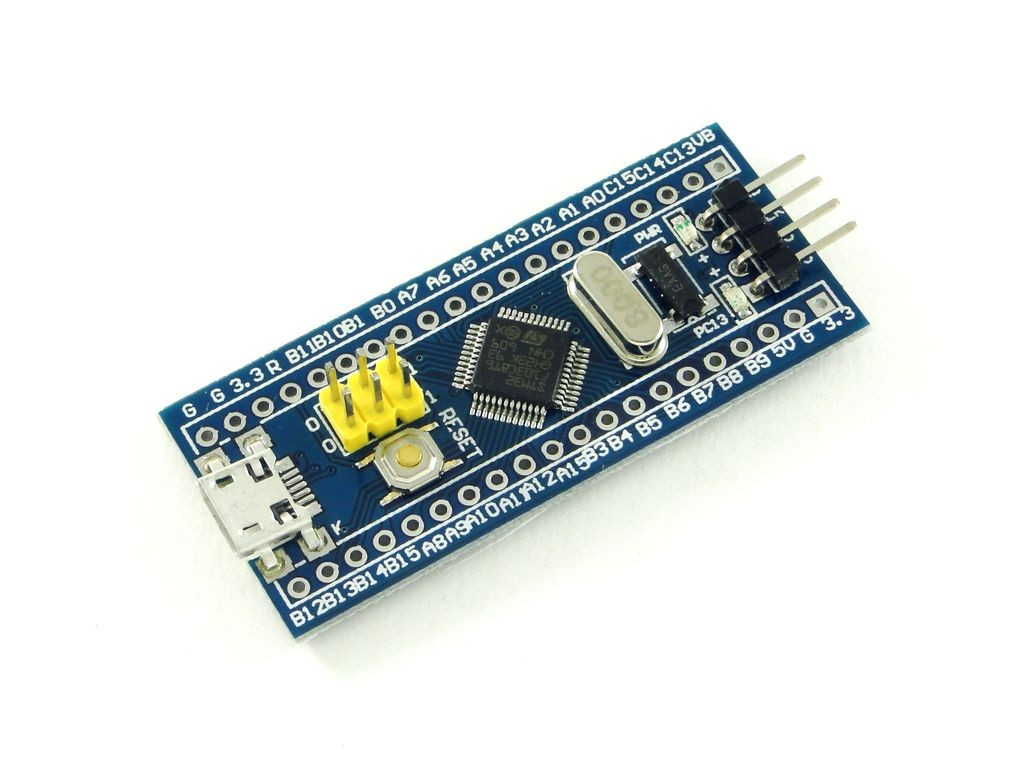 Отладочная плата с микроконтроллером STM32 (STM32F103C8T6), CH1