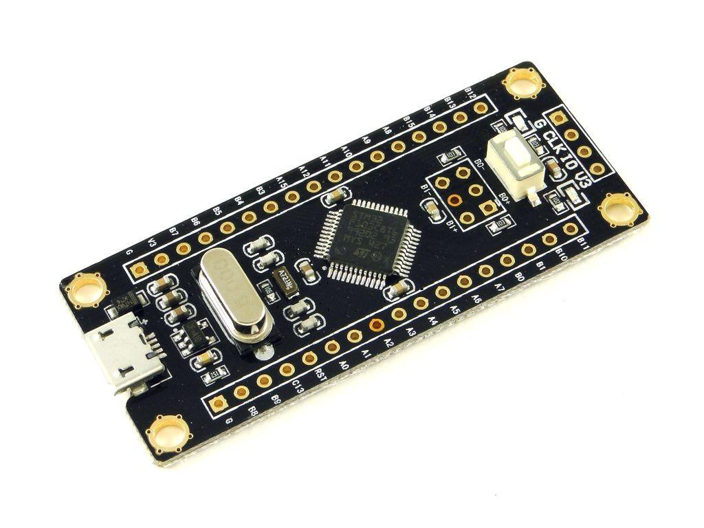 Отладочная плата с микроконтроллером STM32 (STM32F103C8T6), CH3