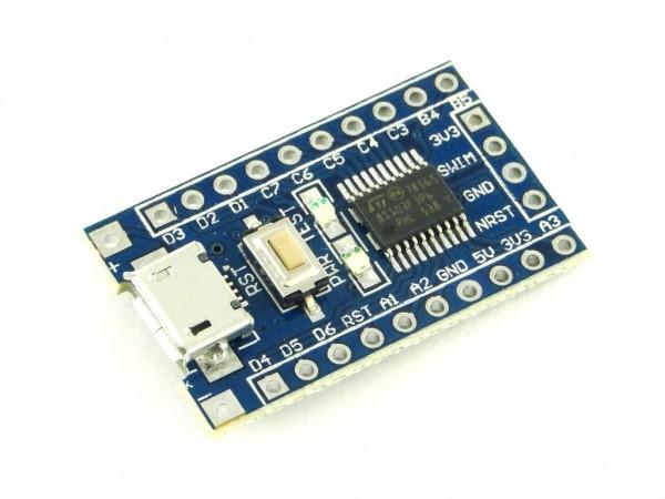 Микроконтроллер STM8 (STM8S103F3P6) на плате