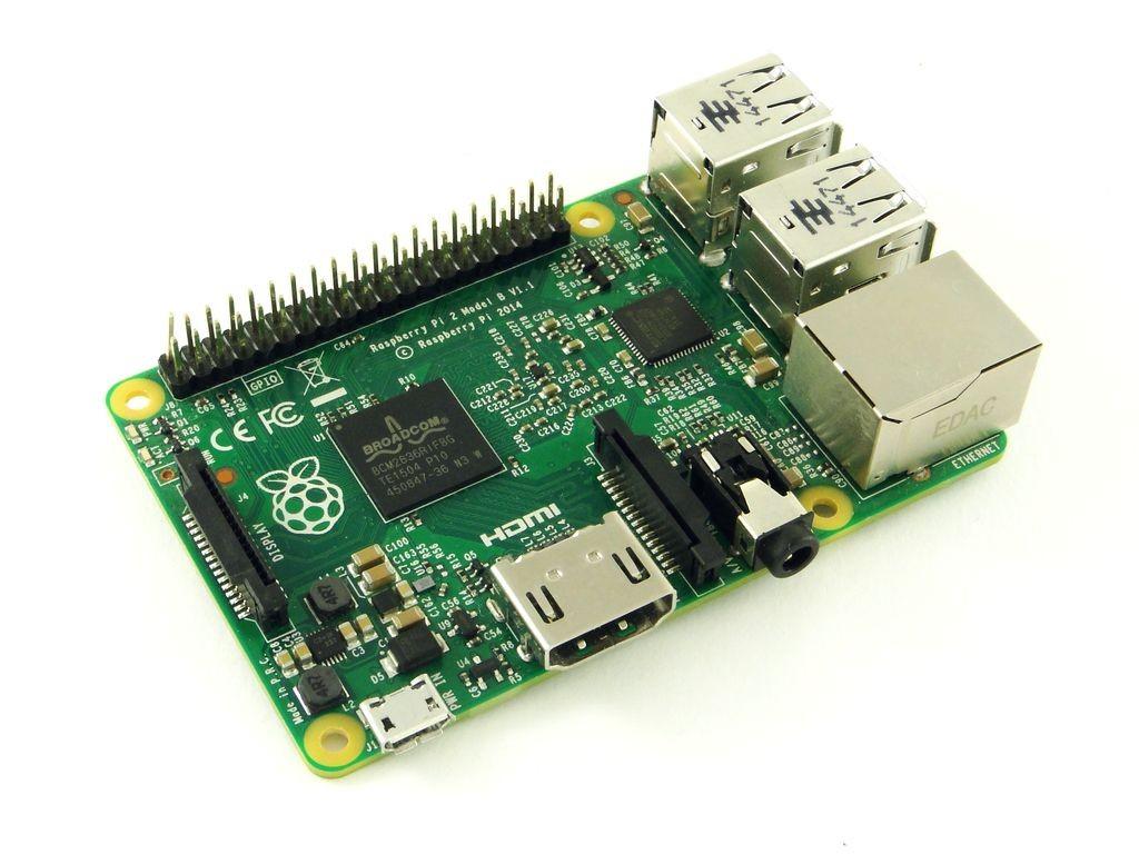 Микрокомпьютер Raspberry Pi 2 Model B