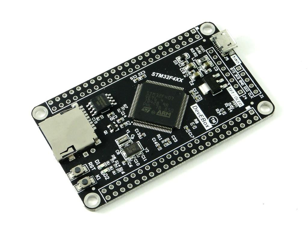 Отладочная плата с микроконтроллером STM32 (STM32F407VET6) CH2
