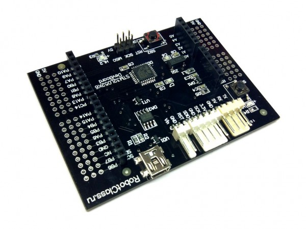 Отладочная плата с микроконтроллером STM32 (STM32L052K8T6)