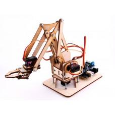 Миниатюрный манипулятор на сервоприводах