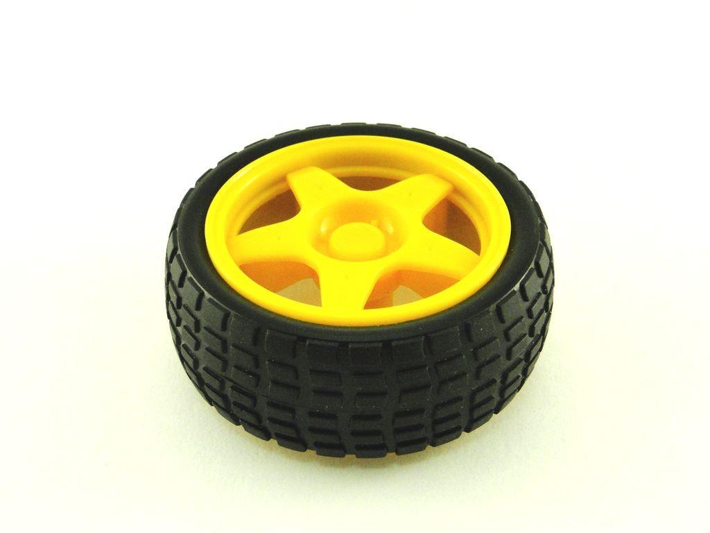 Колесо для TT мотора, D=65мм, P=27мм