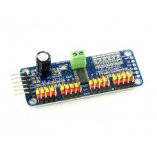 Драйвер серво-приводов, 16 каналов, I2C