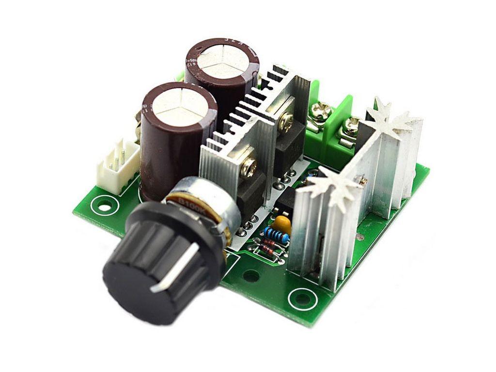 ШИМ-регулятор скорости двигателя, 40В, 10А