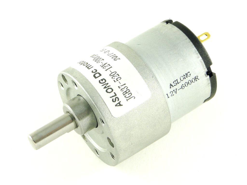 Двигатель с редуктором JGA37-3530, 333 об/мин