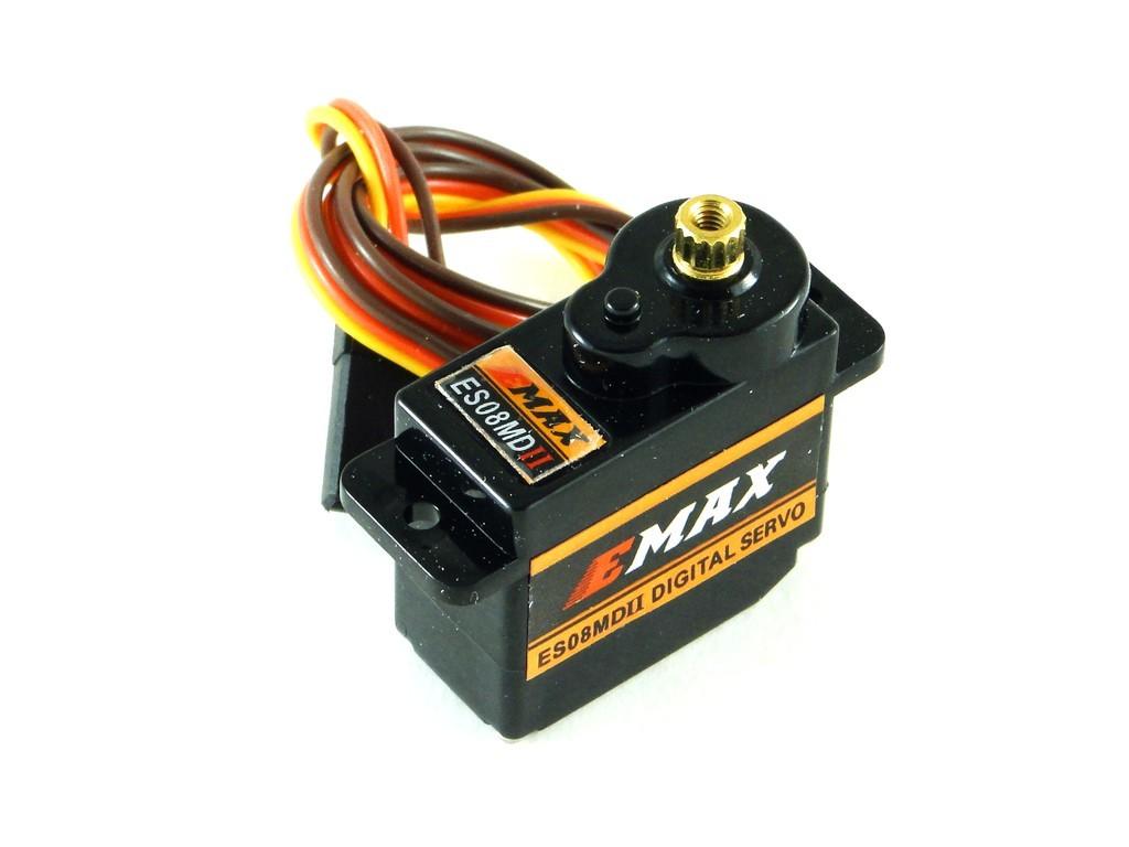 Сервомотор E-MAX ES08MD II, 2,0кг/см
