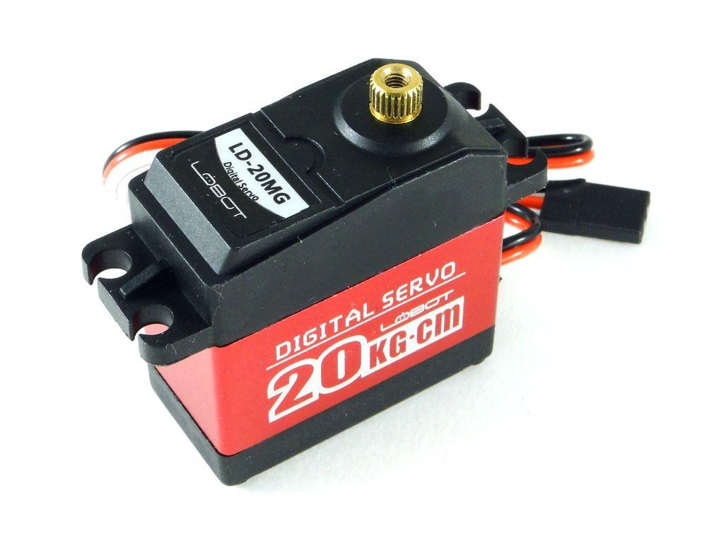 Сервомотор LD-20MG, 20кг/см