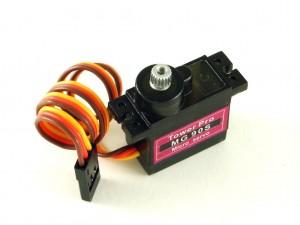 Сервомотор MG90S с метал. редуктором, 2,2кг/см