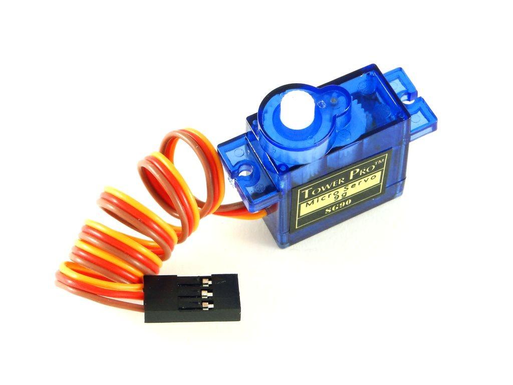 Сервомотор SG90, 1,6кг/см