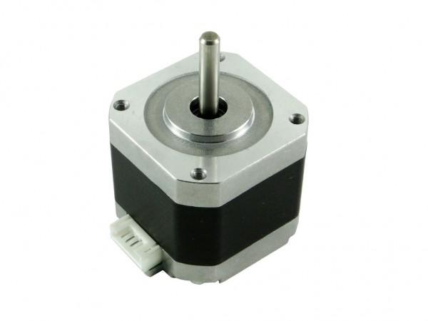 Двигатель шаговый Nema17, 1,8гр., 1.5А, с разъёмом