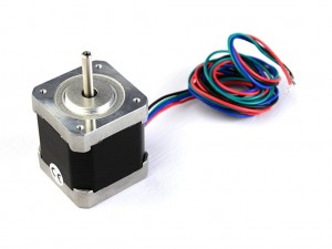 Двигатель шаговый Nema17, 1.8 градуса, 1.7А