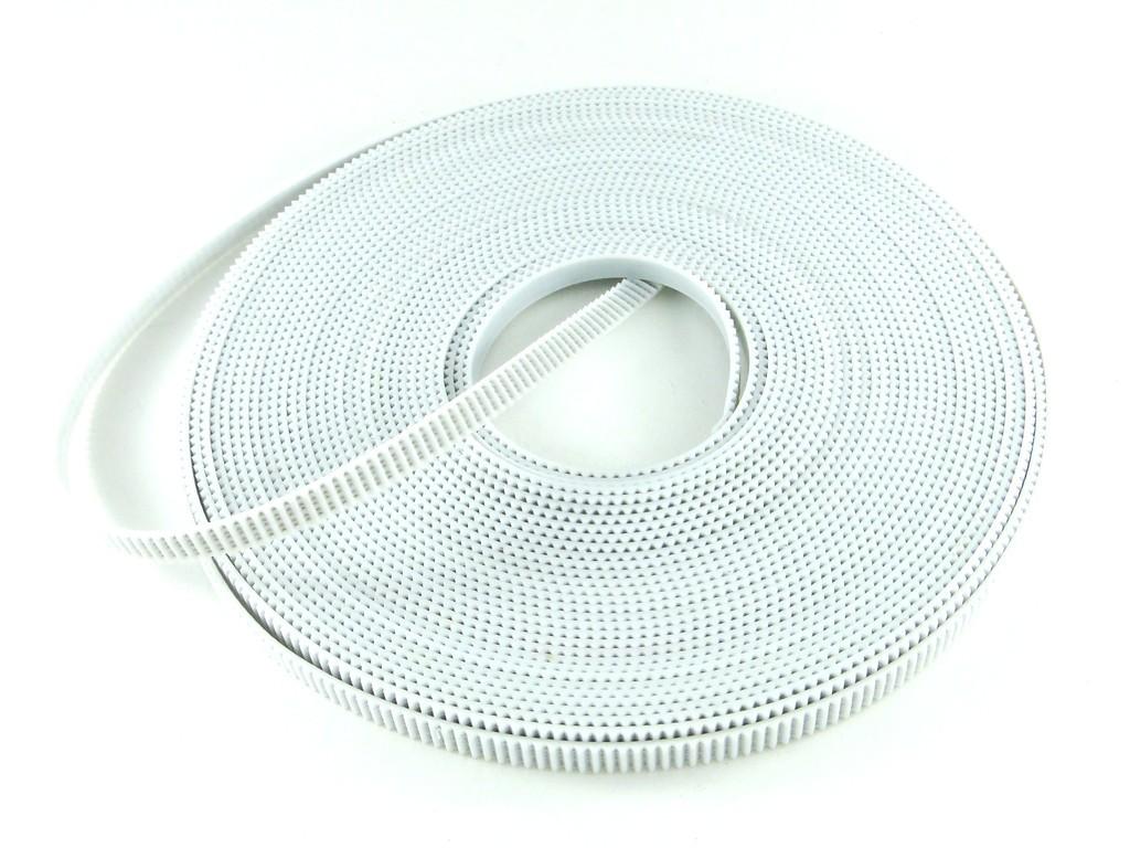 Ремень зубчатый GT2-6, стальной корд, 1 метр