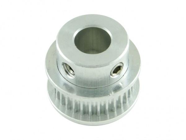 Шкив для ремня GT2, 30 зубов, вал 8 мм