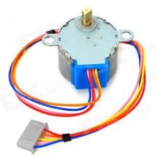 Двигатель шаговый с редуктором, 4096 шагов/оборот