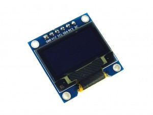 Дисплей OLED, 0.96'', голубой