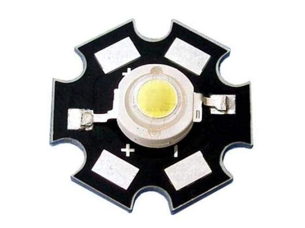 Светодиодный модуль 1 Вт, белый
