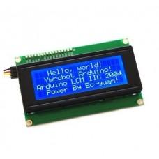 Дисплей ЖК 20х4, с интерфейсом I2C (без кириллицы)