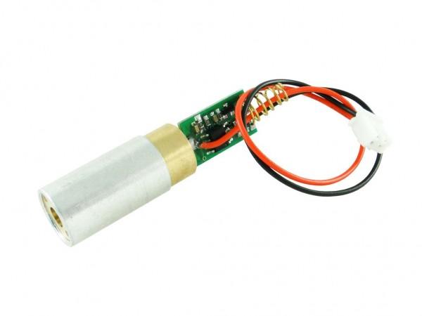 Лазерный модуль, зеленый, 20мВт