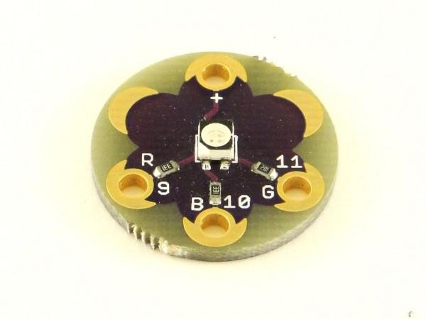 Arduino LilyPad светодиод, RGB