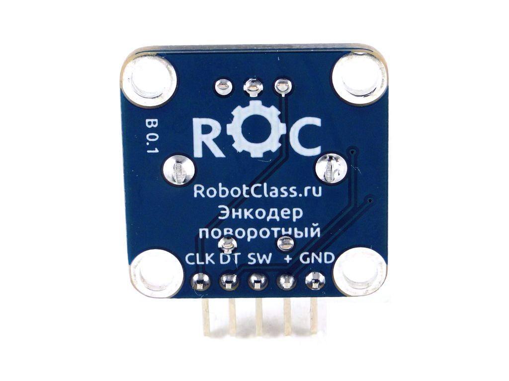 Энкодер поворотный на плате, 20 позиций, ROC