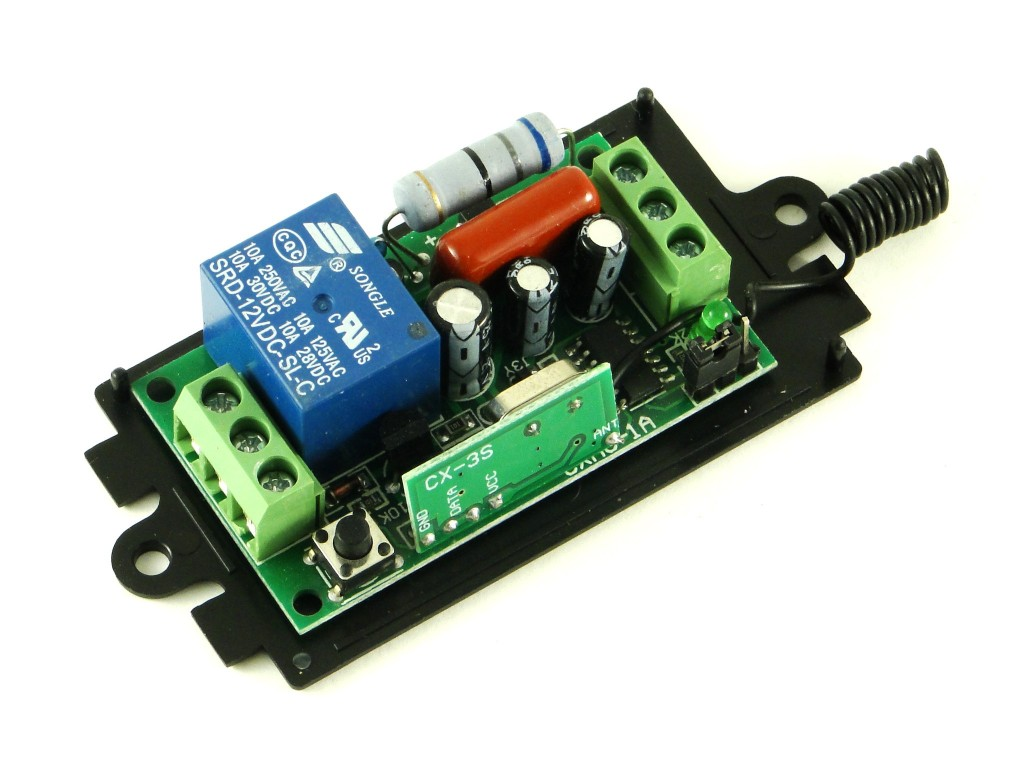 Модуль реле на радиоуправлении, 315Мгц