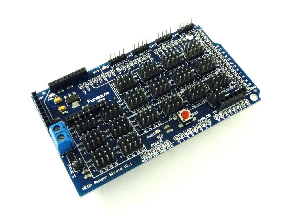 Коммутационный модуль для Arduino Mega, V1.1