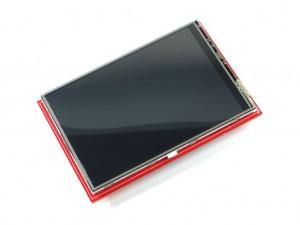 """Дисплей TFT цветной для Arduino, 320x480, 3.5"""" с тачскрином"""