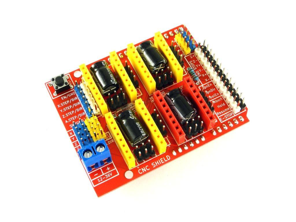 Модуль ЧПУ для Arduino Uno