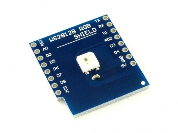 Модуль адресного RGB светодиода для WeMos mini