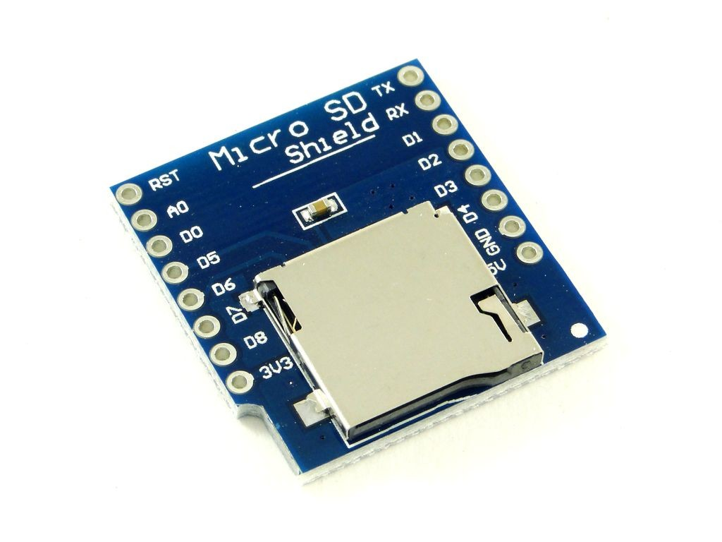 Модуль micro-SD карты для WeMos mini