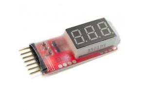 Тестер LiPo/LiIon/LiPoFe аккумуляторов, 2S-6S